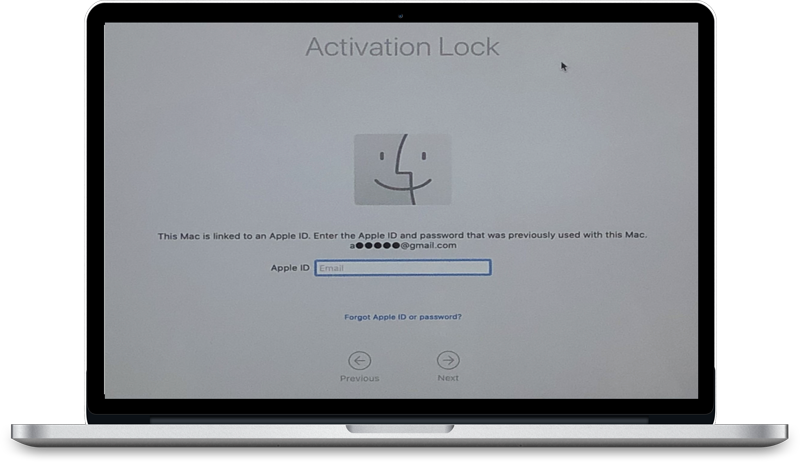 Big Sur and macOS Activation Lock