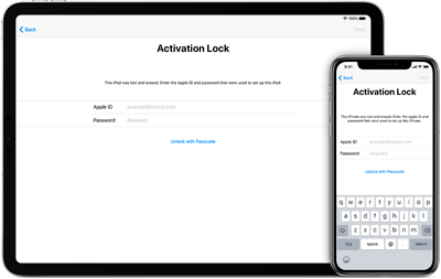 Remove iCloud Activation Lock Screen