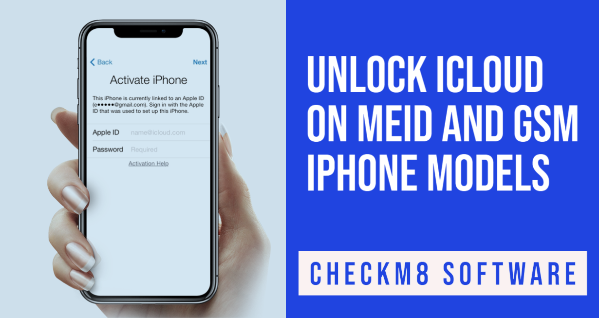 Unlock iCloud on iPhone with Signal [GSM & MEID]
