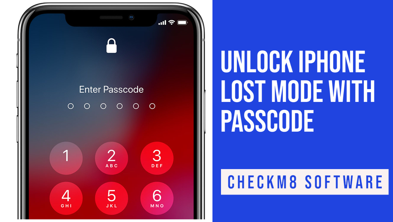 Unlock iPhone Lost Mode with Passcode